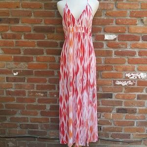 Athleta Ikat Maxi Summer Dress